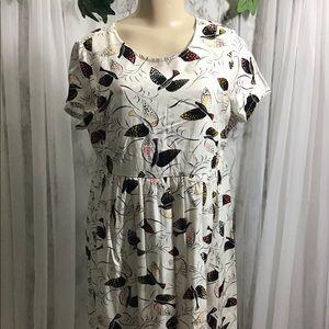 Maternity Bird Dress